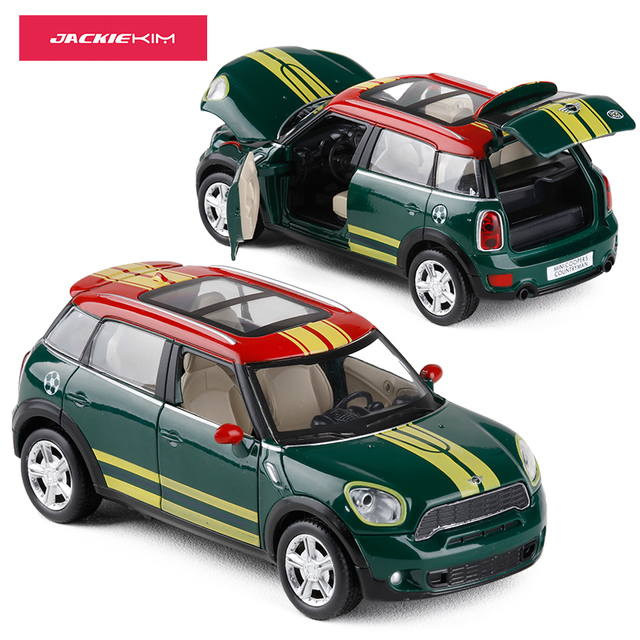1 28 Scale Mini Cooper S Countryman Diecast Toy Car Model Pull Back
