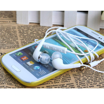 3.5mm Wired In-Ear Earphone Earbud Headset with Mic For Samsung Galaxy S3 SIII i9300 NI5 Smartphone High Quality Headphone