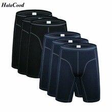 Shorts hommes, lot de 6 pièces, sous vêtements, Boxer en coton Long, sous vêtement, grande taille, gras, offre spéciale