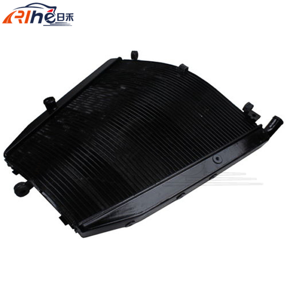 hot selling motorcycle radiator cooler aluminum motorbike radiator black color For Honda CBR1000RR CBR 1000 RR 2004-2005 brand new motorcycle accessories radiator cooler aluminum motorbike radiator for honda crf450r 2005 2006 2007 2008