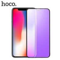 HOCO couvercle complet en verre trempé pour iPhone X Xs sur iPhone 11 Pro Max protecteur d'écran 3D verre de protection pour iPhone XR Xs Max 10