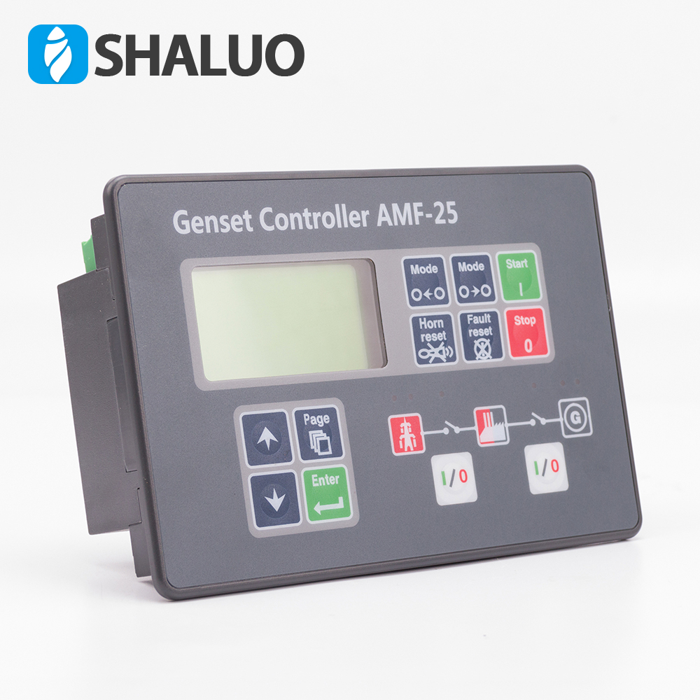Diesel Generator Control Module AMF25 auto start generator controller compatible With Original free shipping dse7310 generator controller auto start control module suit for any diesel generator