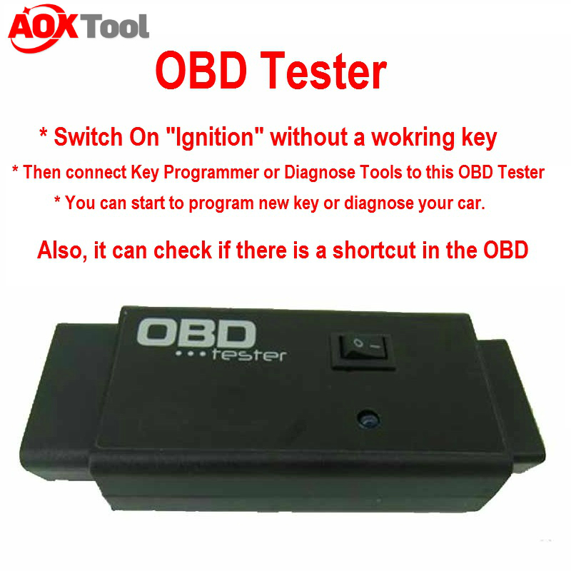 Factory price  OBD Tester - switch on car Ignition when all key lost for VAG OBD Tester