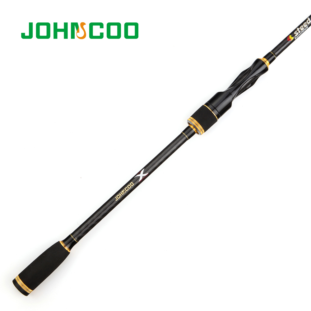 JOHNCOO Spinning Rod with Case Light weight Rod Fast Action 5 20g Casting Fishing Rod Carbon Travel Rod 4 Sections jig Rod in Fishing Rods from Sports Entertainment