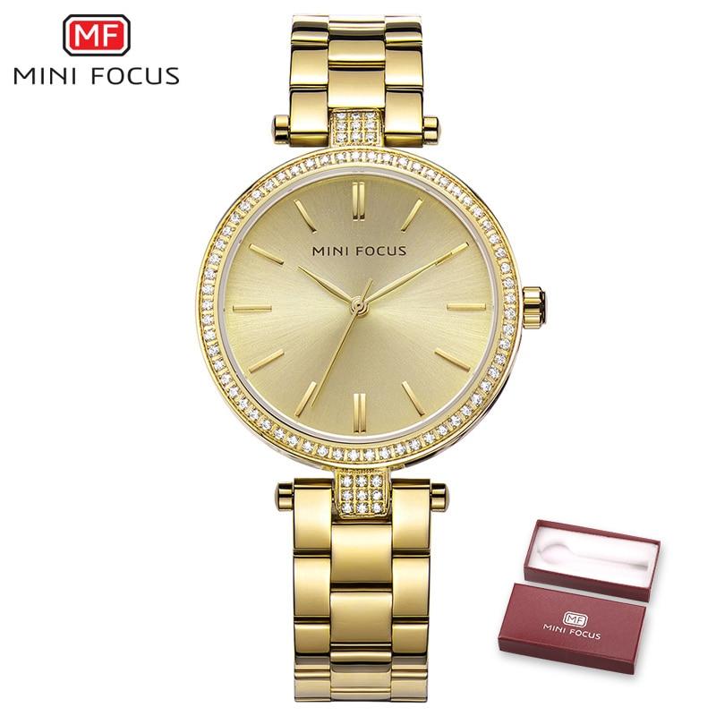 MINI FOCUS New 2018 Top Fashion Ladies Dress Quartz Watch Famous Brand  Women Watches Female Clock Montre Femme Relogio Feminino-in Women s Watches  from ... c8e32b0f09