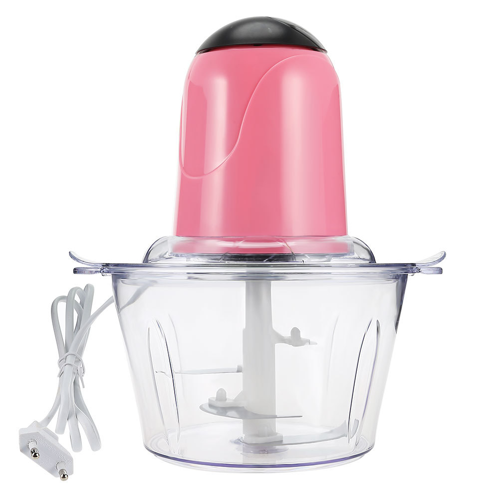 2L Powerful Multifunctional Meat Grinder Household Electric Food Processor Stainless Steel Meat Cutter Blender Chopper XJ gezi electric meat grinder meat cutter parts stainless steel blade matching meat cutter suits for jr1 jr2 jr3 jr5 jr6 grinder
