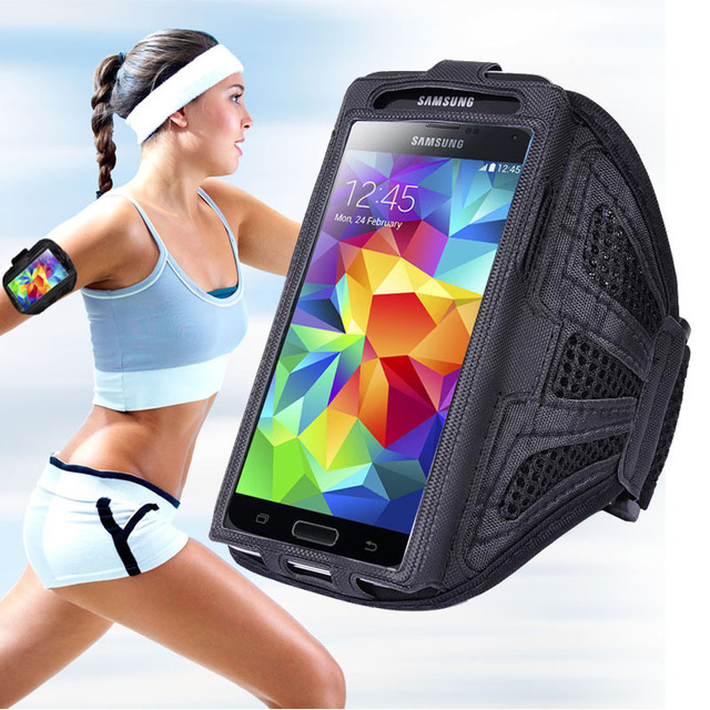 5.0 Inch For iPhone 7 Case Universal Running Sport Armband For Samsung Galaxy S7 S6 For Xiaomi Redmi 4X 3S Brazalete Deportivo