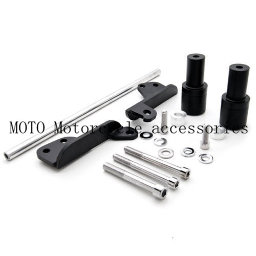 Motorcycle No Cut Frame Sliders For Honda CBR 600RR CBR600RR 2003 2004 2005 2006 Motorbike Frame Sliders Black/Carbon color arashi motorcycle parts radiator grille protective cover grill guard protector for 2003 2004 2005 2006 honda cbr600rr cbr 600 rr