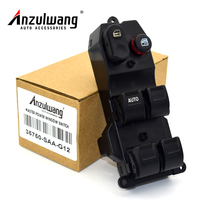 ANZULWANG 35750 SAA G12 35750 SAA G12ZA 35750SAAG12 35750SAAG12ZA Power Window Lifter Switch For Honda Jazz