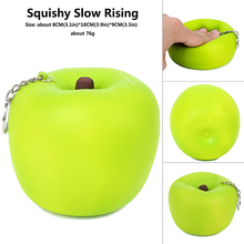 Jumbo Squishy  Apple Squishies Slow Rising Squeeze Toy  Antistress Christmas Toys  Collection Decompression Toys Relieves Stress недорого