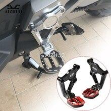 XADV  Rear Foot Pegs Footrest Passenger foot Set Motorcycle Accessories For HONDA X ADV750 X-ADV 750 2017 2018