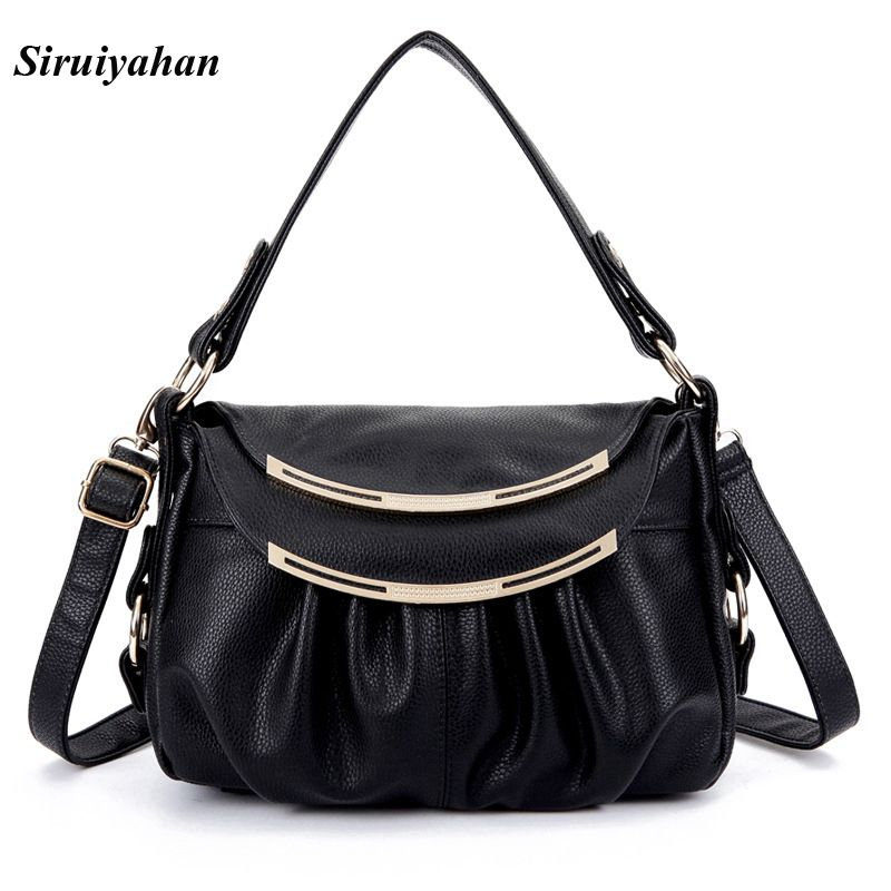 Siruiyahan Genuine Leather Bag Female Luxury Handbags Women Bags Designer Summer Shoulder Bags Women Bag Female bolsa feminina ludesnoble woman bags 2016 bag handbag fashion handbags summer genuine leather bag female shoulder bags women bolsa feminina