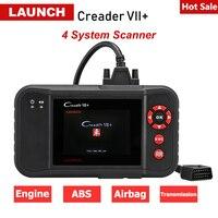 Launch X431 Creader VII+ Creader 7 plus Auto Car Scanner OBD2 Code Reader ABS SRS ENG Diagnostic Tool Free Update pk Creader 123