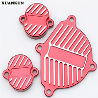XUANKUN Off Road Motorcycle Accessories YX150 / 160 Engine CNC Cylinder Head Valve Cover Decorative Cover