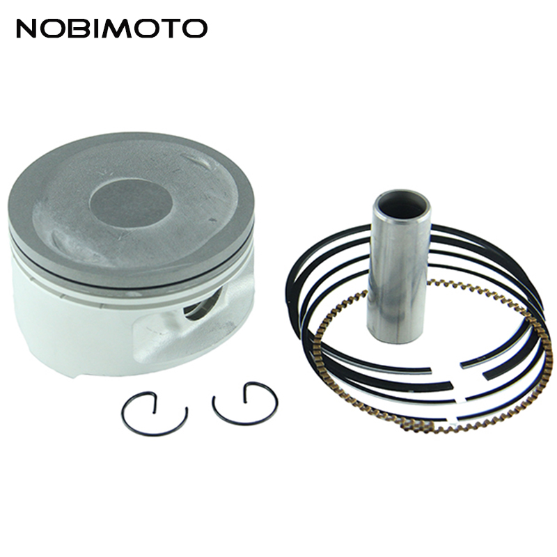72.5mm 17mm Piston Pin Ring Set Fit for Feishen Linhai Yamaha Scoote300cc Water cooling Feishen Linhai Yamaha Scooter ATV HH-117