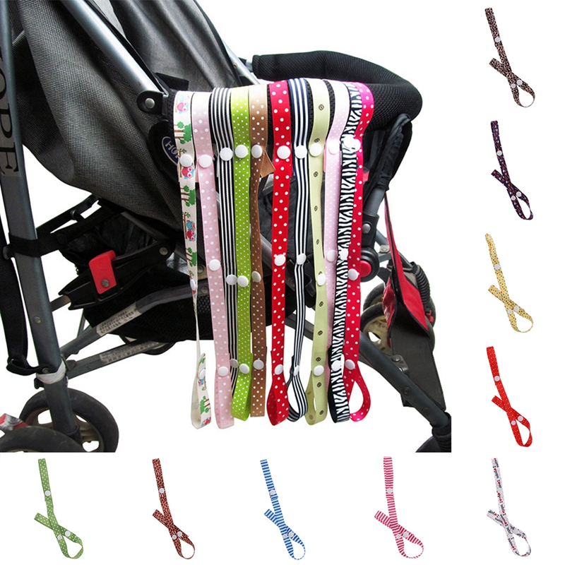 Baby Kid Stroller Pushchair Fixed Toy Rope Anti-Drop Bottle Sippy Cup Strap Belt Holder Ribbon For Infant
