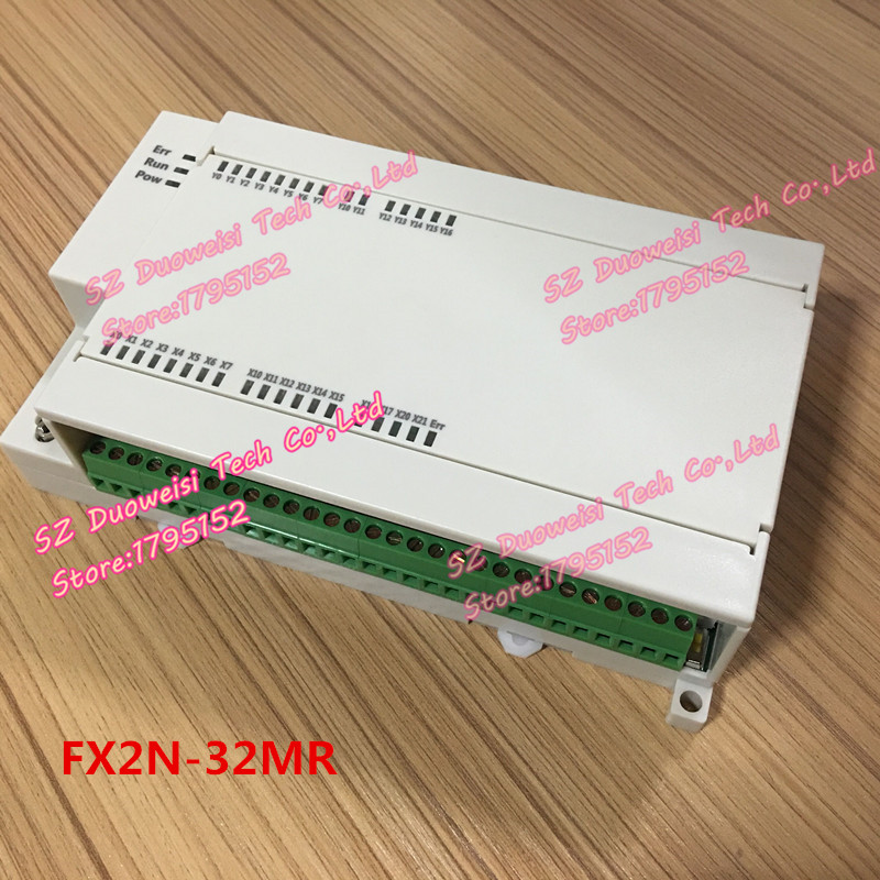 PLC industrial control board FX1N FX2N 32MR 4AD 2DA direct download with analog FX1N32MR FX2N32MR plc industrial control board fx1n 2n 25mr download monitoring text touch screen power off to maintain fx1n 25mr fx2n 25mr