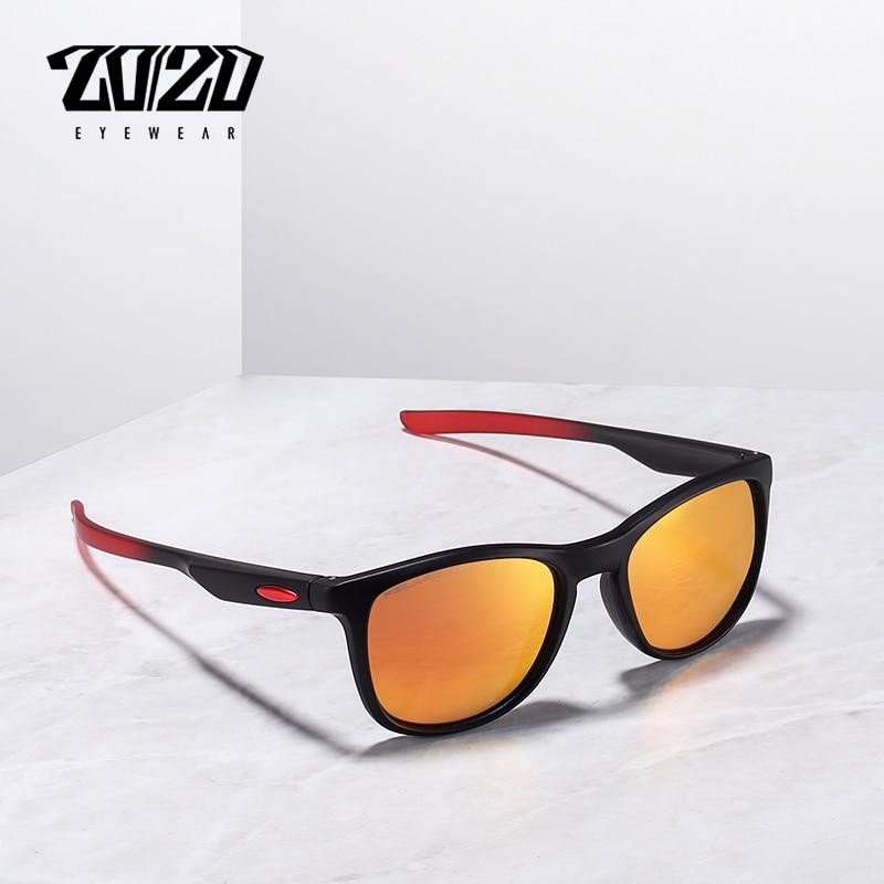 32a62265a99a1 20 20 Nova Marca Unisex Óculos De Sol Dos Homens Polarizados TR90 Lente Do  Vintage