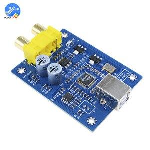 Image 2 - Scheda di decodifica audio dacmodule SA9227 PCM5102A 32bit USB HIFI modulo scheda di decodifica amplificatore decodifica Lettore audio dac convertitore