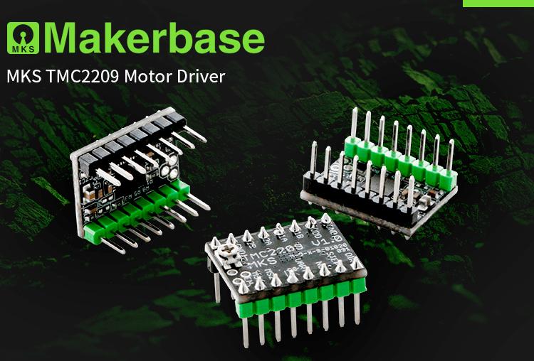 MKS TMC2209 Драйвер шагового двигателя для BIGTREETECH SKR V1 3 Stepstick  двигатель шаговый драйвер устройства 3d принтер драйвер модуль