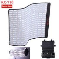 Falconeyes Roll Flex серии RX 718 2700 Вт RGB 100 9999 К портативная система светодиодного освещения с DMX 648 шт. Гибкая фотография Детская безопасность коробка