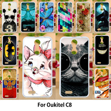 AKABEILA Case For Oukitel C8 5 5 Cases Silicone TPU Covers Cute
