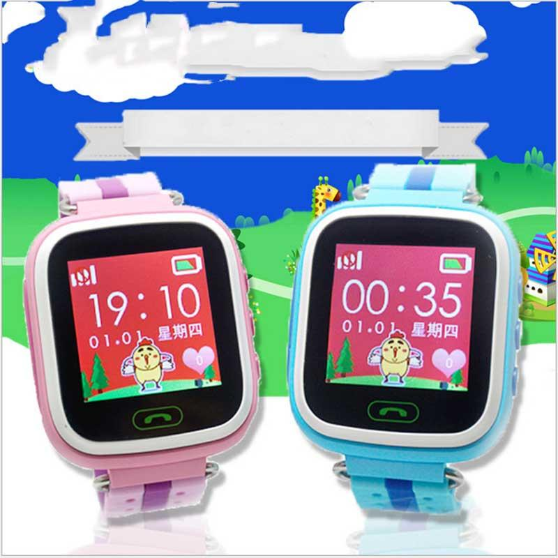 New Q80 Smart kid watch Kid Watch SOS Call Safe Wristwatch Network Positioning Locator Tracker Monitor