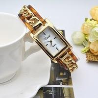 XG018 CUSSI Luxury Women S Quartz Wristwatch Fashion Rectangle Lady Bracelet Watches Relogio Feminino Steel Reloj