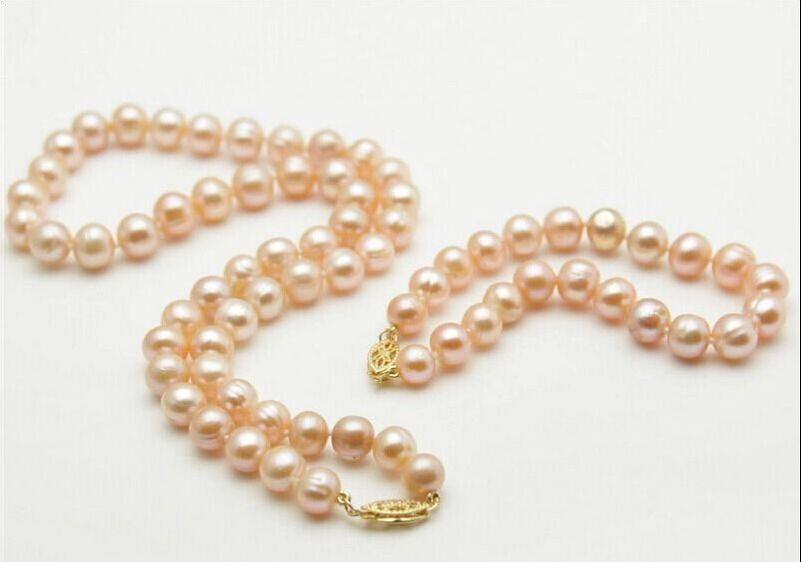925silver Yellow Gold with 9-10mm Pink South Sea Pearl Necklace 18 ,Bracelet 7.5-8925silver Yellow Gold with 9-10mm Pink South Sea Pearl Necklace 18 ,Bracelet 7.5-8