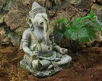Resin Ornament Decoration Simulation Of The Ancient Gods Buddha For Aquarium Fish Tank Crawler Box 11