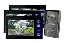 Freeship Monitor de Puerta de Entrada de la Puerta de Intercomunicación de Vídeo Cámara de La Puerta Sistemas de Intercomunicación Casa Con Pantalla Táctil LCD de 7 pulgadas