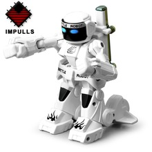 free shiping! 2PCS remote radio control battle fighting RC robot novelty toys gifts pair! new technique,high quality! FSWB 2pcs rc battle robot