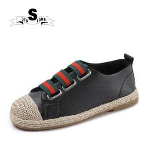 7e9d38177cc 2018 Flat leather women shoes fisherman Espadrilles shoes one foot loafers  rivet