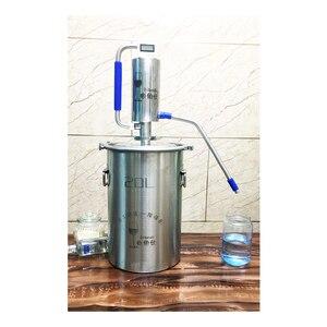 Image 2 - 20L Moonshine Distiller bira alkol makinesi ev bira likör brendi votka damıtma, Comprises bira aksesuarları