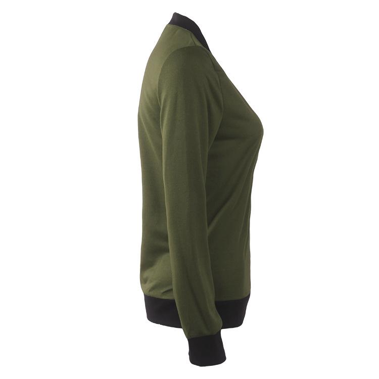 Hot Sprzedaż Jesień Tanie Ubrania Kobiet Małe Krótkie Kurtki Z Długim Rękawem Zipper Fly Outwear Kurtki Płaszcze Slim Cienkie Stylu topy Coat 8