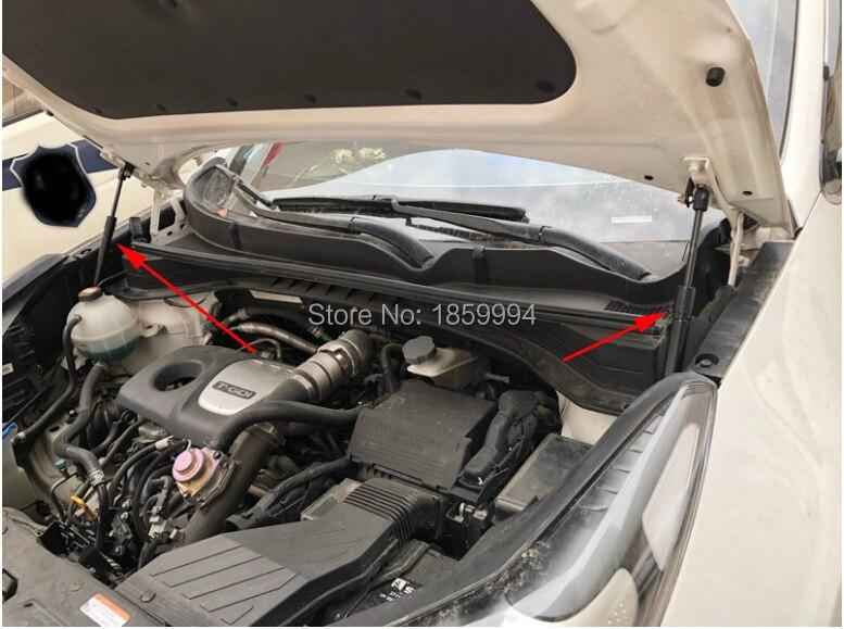 For Kia Sportage QL 2016 2017 front hood Engine cover supporting Hydraulic rod Strut spring shock Bars bracket автомобильный коврик klever standard для kia sportage 2016