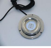 Водонепроницаемый подводный светодиодный фонарь из нержавеющей