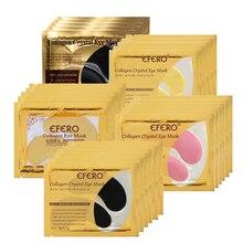 100pcs=50Pack Eye Masks Crystal Collagen Remove Dark Circle Gel Eye Mask Moisturizing Anti Aging Eye Patches Eye Care