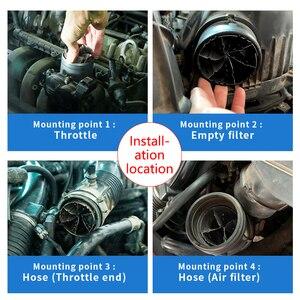 Image 2 - Turbocompresseur pour économie de carburant, accélérateur pour économie dhuile, améliore le rapport Air carburant, calibre 35 40MM 80 85MM, 2 pièces/paquet