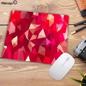 Image 2 - Mairuigeビッグプロモーション幾何快適小さな速度マウスマットゲーム格安マウスパッド 180 × 220 × 2 ミリメートルスモールマウスパッド