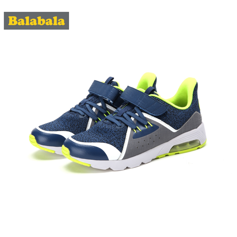 Balabala Boys Fleece-Lined Fly-Knit Cushion Sneaker with Hook&loop Strap Kids Toddler Boy Running Shoes with Breathable UpperBalabala Boys Fleece-Lined Fly-Knit Cushion Sneaker with Hook&loop Strap Kids Toddler Boy Running Shoes with Breathable Upper