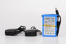 MasterFire High Quality DC 12V 3000mAh Lithium-ion Rechargeable Battery Batteries Pack For CCTV Camera DC 12300 with US EU Plug