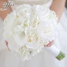 Iffo продукт на заказ невесты Брошь букет Свадебный букет корсаж для жениха невесты на запястье цветок Свадебный искусственный цветок шелк