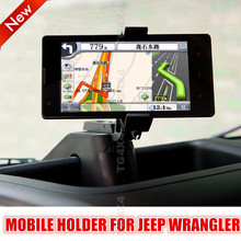 Mobile Holder Cellphone Holders for Jeep Wrangler Car GPS Bracket Support Mp3 Mp4 Pda Clamp