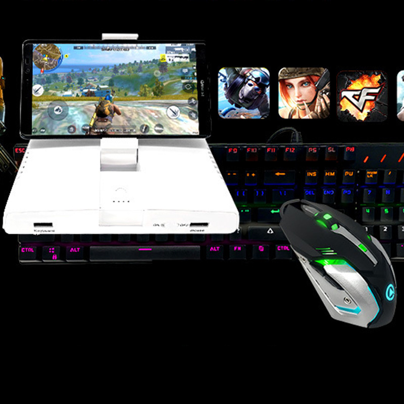 Image 5 - Powkiddy Bluetooth Battledock Converter Stand Charging Docking For FPS Games, Using With Keyboard And Mouse, Game Controller-in Gamepads from Consumer Electronics