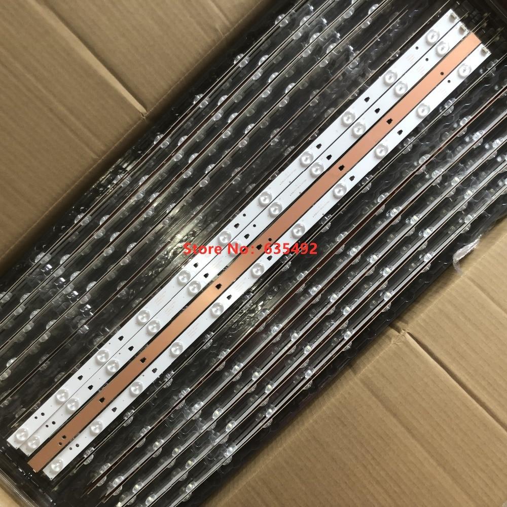 1set=4pieces for LE40F3000WX LK400D3HC34J Led backlight 11lamps JVC LT 40E71(A) LED40D11 ZC14 03(B) LED40D11 ZC14 01 30340011206LED Bar Lights   -