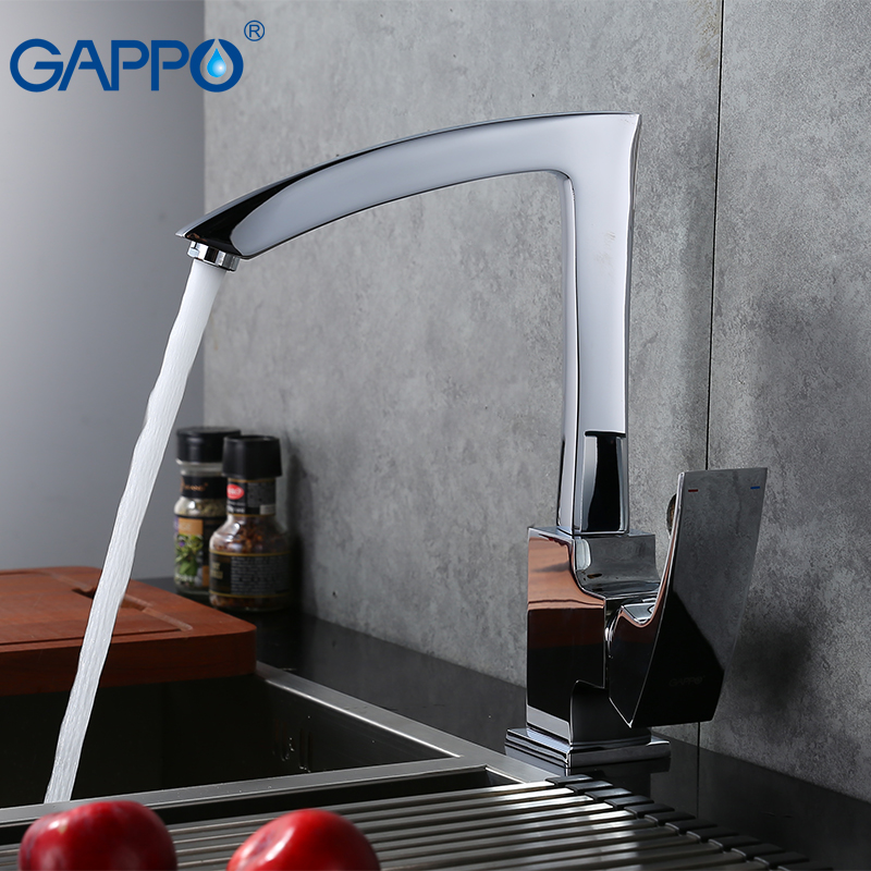 GAPPO kitchen faucet brass kitchen sink tap water mixer taps kitchen sink mixer water crane torneira para cozinha frap new white black flexible kitchen sink faucet brass 360 degree rotation torneira cozinha water tap mixer kitchen goods f4042