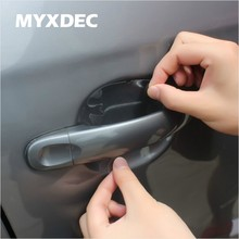 8 pcs Universal Invisible Car Door Handle Scratch Protector