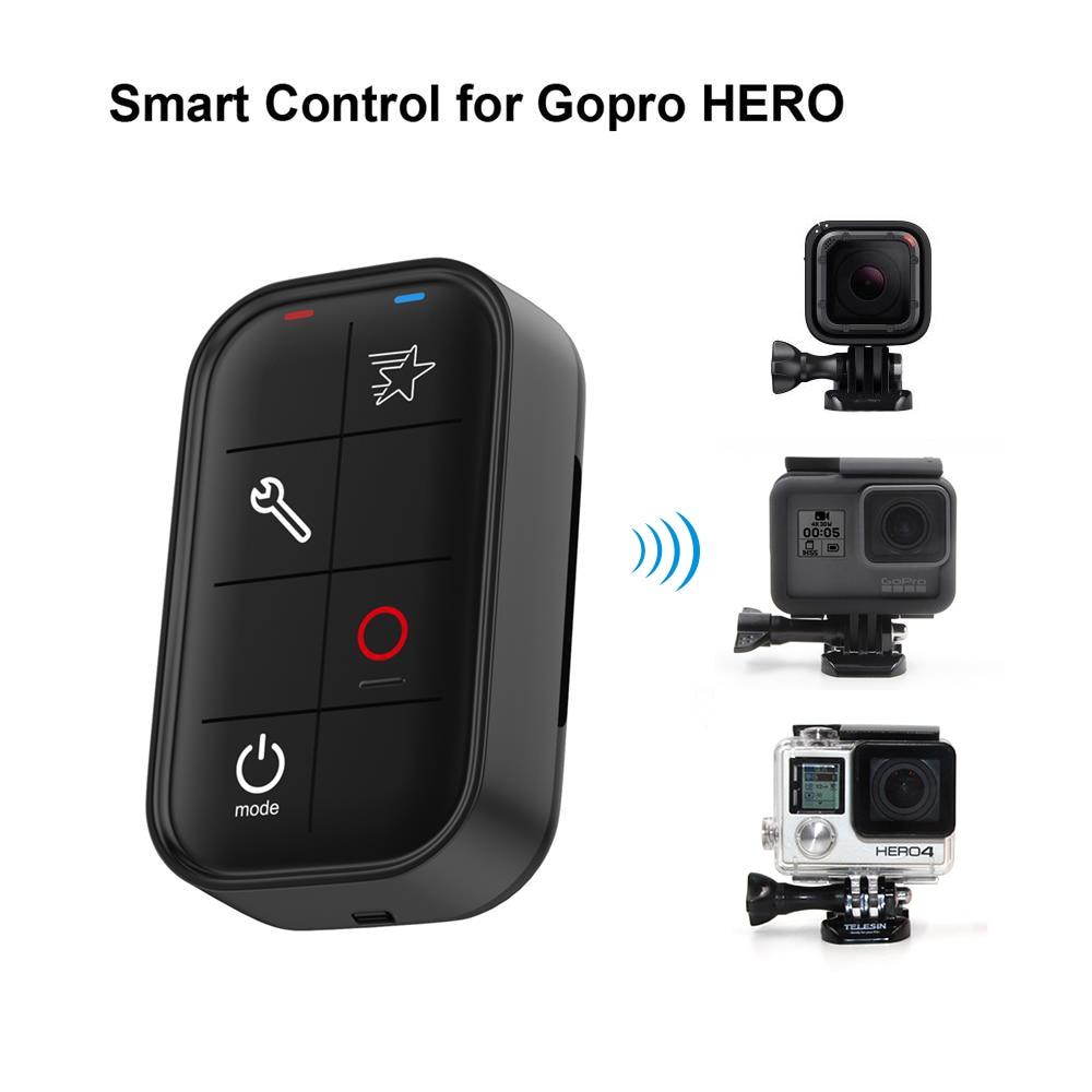 Waterproof Wireless WIFI Smart Camera Controller Remote Control for GoPro Hero5 Hero4 Hero3 Newest Universal Action Camera universal silicone case w strap for gopro heo3 hero3 wi fi remote controller blue black