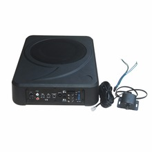 Power Amplifier Under Seat Bass Box with Remote Subwoofer Level Control F801